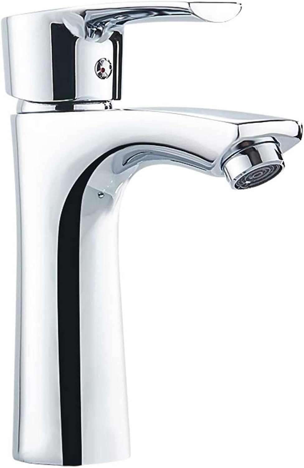 Water-tap, Bathroom Hot And Cold Copper Basin Wash Basin Thickened Basin Faucet