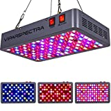 VIPARSPECTRA Latest 600W LED Grow Light, with Daisy Chain, Veg and Bloom...