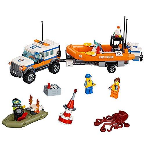 LEGO City Coast Guard 4 x 4 Response Unit 60165 Building Kit (347 Piece)