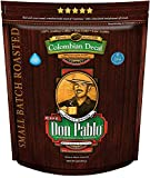 2LB Don Pablo Colombian Decaf - Swiss Water Process Decaffeinated - Medium-Dark Roast - Whole Bean Coffee - Low Acidity - 2 Pound (2 lb) Bag