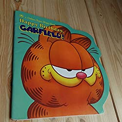 Image: Happy Birthday, Garfield, by Golden Books. Publisher: Golden Books (February 1, 1990)