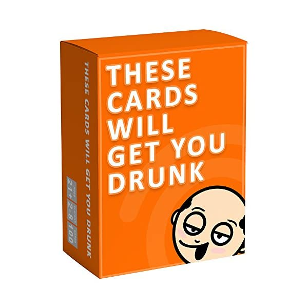 These Cards Will Get You Drunk – Fun Adult Drinking Game for Parties