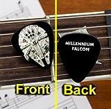 Cool Black Star Wars Millennium Falcon Guitar Pick Pic