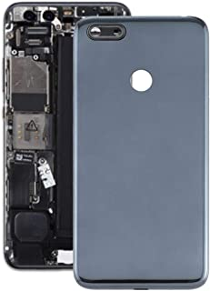 Mobile Phones Communication Accessories Battery Back Cover for Motorola Moto E6 Play (Color : Black)