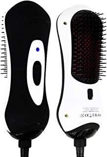 Hair Dryer Brush One Step 2 Mode Curler Hot Hair Comb Infrared Sensing and Negative Ion Technology Dual Protection for Men's and Women's Hair Care