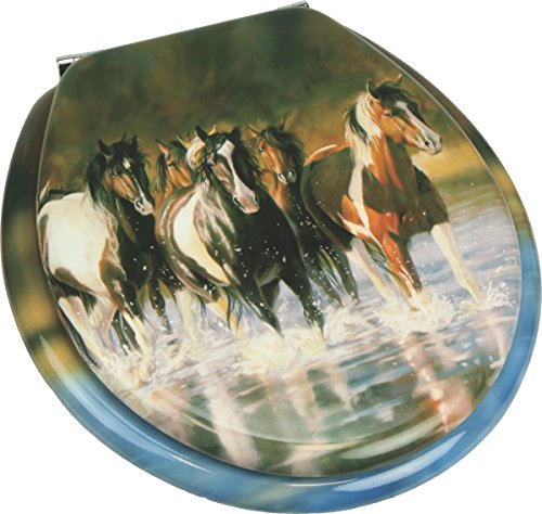 River's Edge Products Horse Toilet Seat
