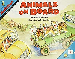 animals on board - to teach addition book
