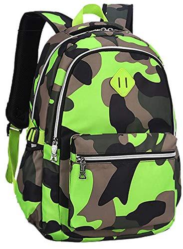 Kinderrucksack - Leichte Kinder Schultaschen Camouflage School Bookbag Outdoor Daypack