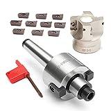 Binchil MT2 M10 & 50 mm fresadora frontal + 10 unidades APMT1604 llave de metal duro CNC