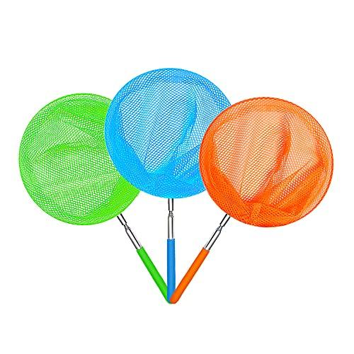 NAODONGLI Kids Telescopic Butterfly Fishing Nets Perfect Outdoor Tools...