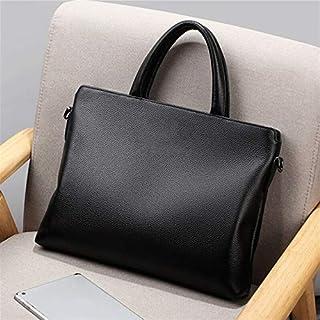 حقيبة ظهر Chliuchihjklstb، حقيبة يد أنيقة للرجال بريطاني حقيبة عمل حقيبة كتف (اللون: أسود)
