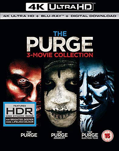The Purge: 3-movie Collection [Region B] [Blu-ray]