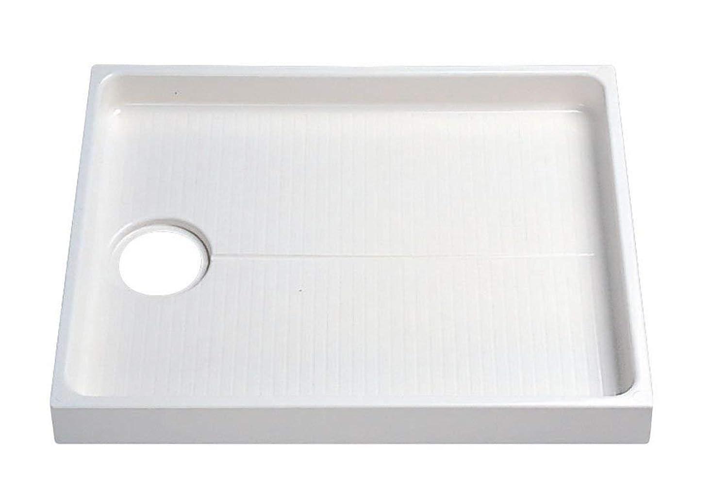 アレイオリエント一貫したTOTO 洗濯機パン 800mmサイズ (排水口位置:センター) PWP800N2W