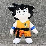 Zcm Plush 37cm Anime Dragon Ball Z Peluches Son Goku Muñeco de Peluche Suave y Lindo