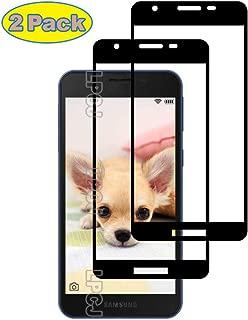 LPCJ Protector de Pantalla Samsung Galaxy A2 Core, [2 Piezas] Cristal Templado, [Cobertura [Dureza 9H] [Alta Definición ],Protector Pantalla para Samsung Galaxy A2 Core