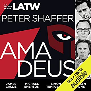 Amadeus                   By:                                                                                                                                 Peter Shaffer                               Narrated by:                                                                                                                                 Steven Brand,                                                                                        James Callis,                                                                                        Michael Emerson,                   and others                 Length: 2 hrs and 2 mins     49 ratings     Overall 4.7