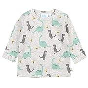 Feetje Baby Shirt Pullover Dino, Größe:86, Farbe:Grau