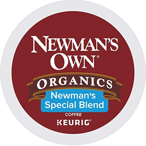 Newman's Own Organics Special Blend, Single-Serve Keurig K-Cup Pods, Medium Roast Coffee, 72 Count (5000053615)
