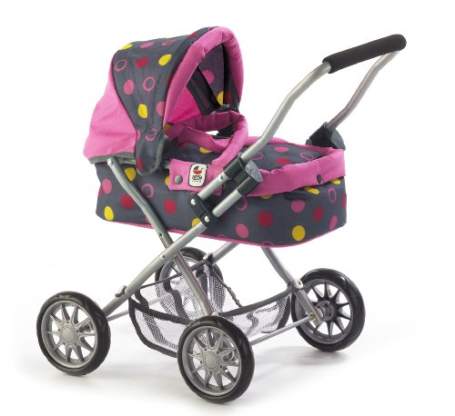 Bayer Chic 2000 555 24 Puppenwagen, Funny Pink