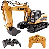 deAO RC Digger Truck with Extra Claw 2.4GHz Sync System for Multi Players