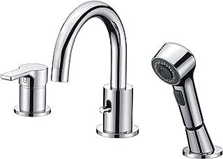 Best bathtub faucet 3 hole Reviews