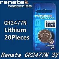 20PCS/LOT cr2477n button cell battery batteries card independent cr2477 belt ladder