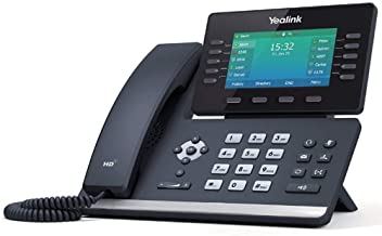 Yealink T54W IP Phone, 16 VoIP Accounts. 4.3-Inch Color Display, AC Wi-Fi, Dual-Port Gigabit Ethernet, PoE, Power Adapter ... photo