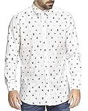 DEWE Camisa Manga Larga L11002 Talla XXL Color Blanco