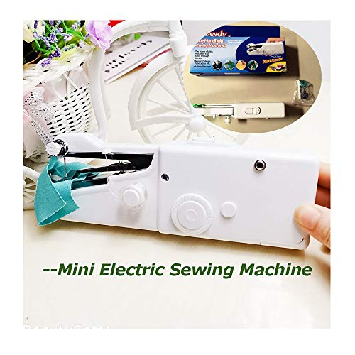 Great Price! QWET Portable Mini Electric Sewing Machine, Upgraded Eco-Friendly Material Portable Men...