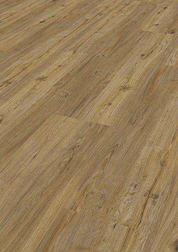 Bodentrend Vinyl Galant zum Kleben, Klebevinyl, Fußboden zum verkleben, Vinylboden zur Verklebung - Verschiedene Dekore wählbar - Boden zum kleben, 2 mm Stärke, 0,30 mm Nutzschicht, 1 Paket (3,40 m²)