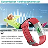 Immagine 1 yamay bracciale fitness tracker con