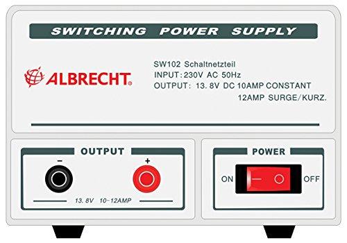Albrecht 47530 Stromversorgung SW 102 Ausgang 12V / 10-12A