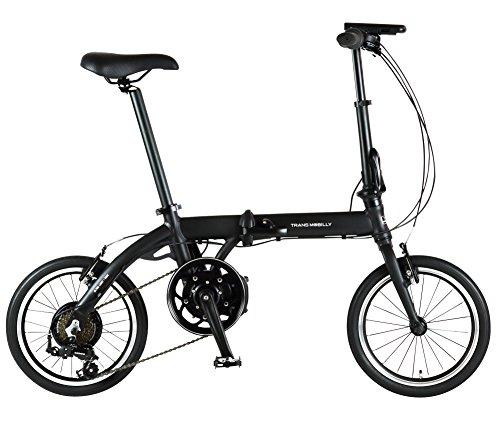 トランスモバイリー(TRANS MOBILLY) ULTRA LIGHT E-BIKE AL-FDB166E 折りたたみ電動アシスト自転車 16イン...