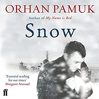 Snow                   Written by:                                                                                                                                 Orhan Pamuk                               Narrated by:                                                                                                                                 John Lee                      Length: 18 hrs and 33 mins     1 rating     Overall 4.0