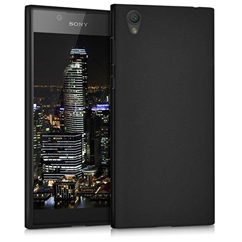 kwmobile Hülle kompatibel mit Sony Xperia L1 - Handyhülle - Handy Case in Schwarz matt