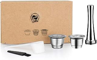 Voor Nespresso Herbruikbare Coffee Capsule Roestvrijstalen navulbare filter Espresso Cup Fit Inissia & Pixie Coffee Maker...