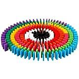 SUPVOX Domino Dominó para niños Dominó Set 120pcs Dominó Bulk Pick Up Sticks Bloques de construcción Juguete