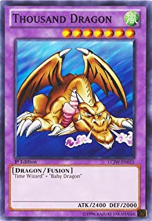 YU-GI-OH! - Thousand Dragon (LCJW-EN055) - Legendary Collection 4: Joey's World - 1st Edition - Common