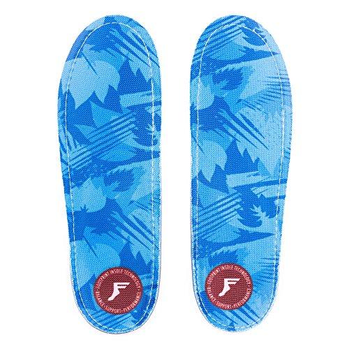 Footprint Gold Orthotic Low Profile camo blue Einlegesohle Größe US 7 - 7.5