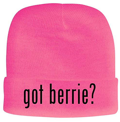 BH Cool Designs got Berrie? - Men's Soft & Comfortable Beanie Hat Cap, Pink, One Size