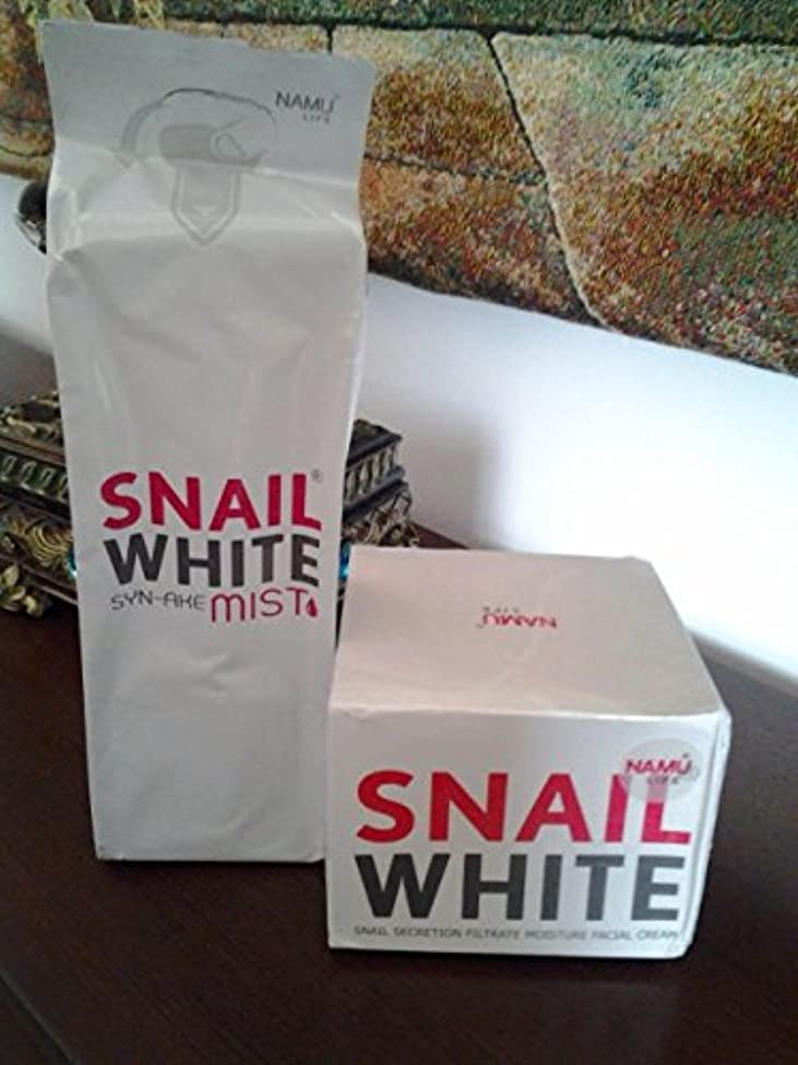 面敬完璧Snailホワイトクリーム+カタツムリホワイトsyn-ake Mist Snail