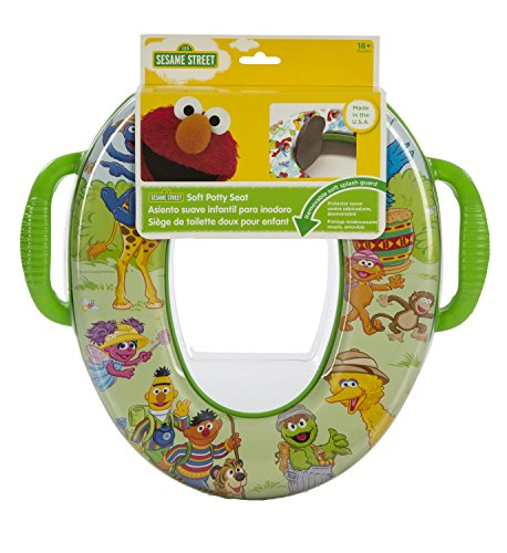 POTTY SEAT SESAME STREET by GINSEY HOME SOLUTIONS MfrPartNo 93002