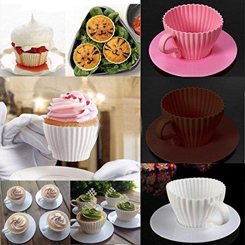 Bazaar 4 kleine cake muffin bakvorm chocolade thee