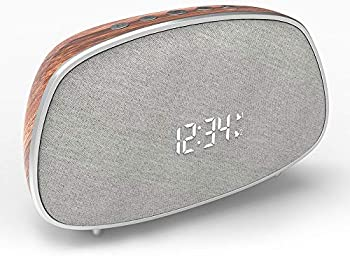 Lobkin Dual Alarm Clock Bluetooth Speaker