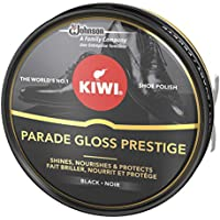 Kiwi - Crema en Lata para Calzado Shoe Polish Negro