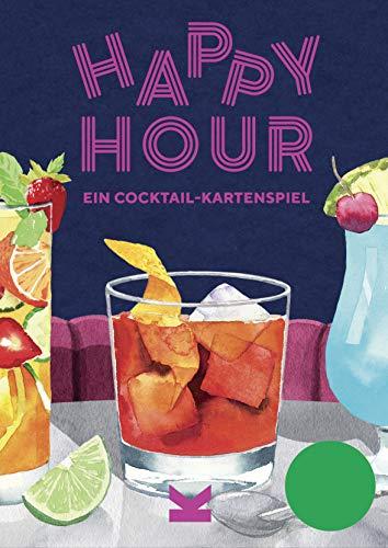 Happy Hour. Ein Cocktail-Kartenspiel. Quartett