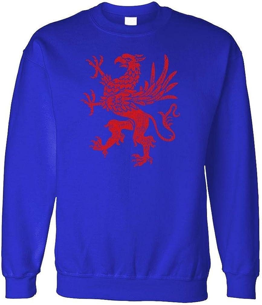 Griffin Rampant - Old World England Mythos - Fleece Sweatshirt