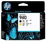 HP 940 Cartouche d'Encre Authentique (C4900A) Noir/Jaune Standard