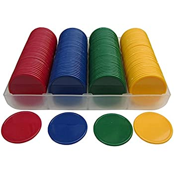 Toyvian Juego de Mesa de fichas de fichas de plástico Juego de ...