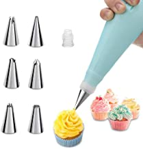 Piping Bag and Tips Cake Decorating Supplies Kit Baking Supplies Cupcake Icing Tips with Pastry Bag for Baking Decorating ...